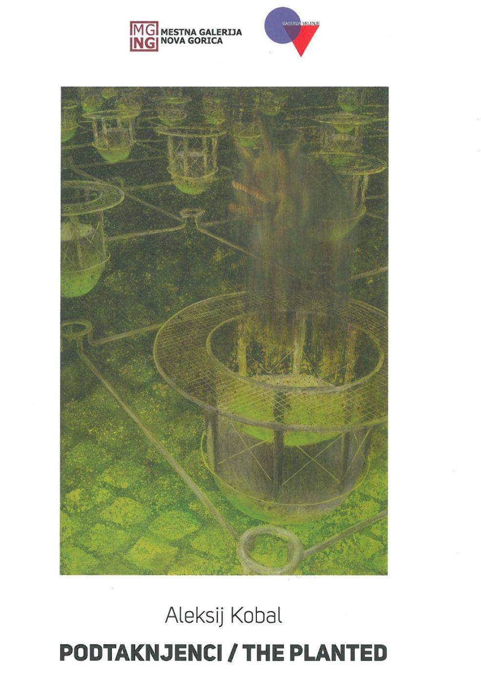 Brexit, 2019, akril, olje na platnu, 100 x 120 cm