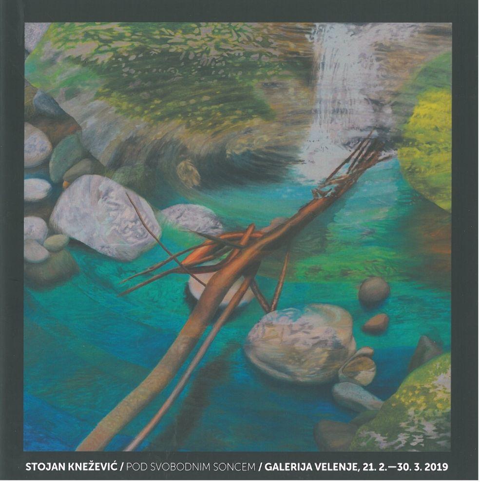 Hudi potok, 2016, olje na platnu, 130 x 130 cm