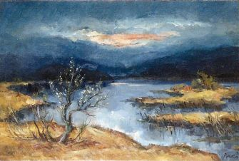 Night At Cerkno Lake, 1975