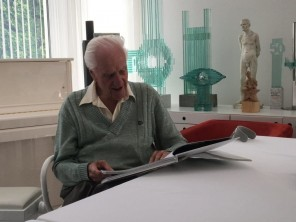 Predstavitev monografije o kiparju in oblikovalcu Cirilu Cesarju z naslovom Pot v svetlobo