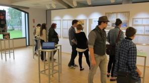 Dijaki umetniške gimnazije likovne smeri se predstavijo