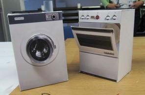 Gorenje na sončno energijo - Izdelava maket gospodinjskih aparatov