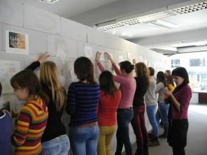 Grafiti v Galeriji
