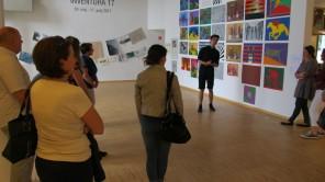 Vodstvo in pogovor z dijaki Umetniške gimnazije likovne smeri