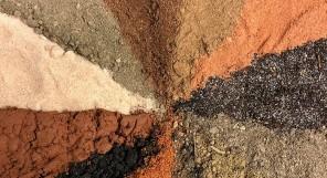 Barve zemlje v likovni dediščini
