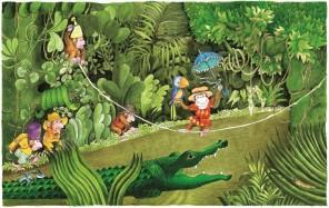 Mala opica Nana- pravljično doživljajska urica
