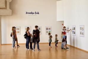 Družinsko vodenje: Po kotičkih galerije