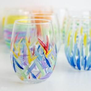 Pobarvano steklo