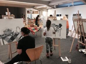 Slikarska šola, zaključna razstava