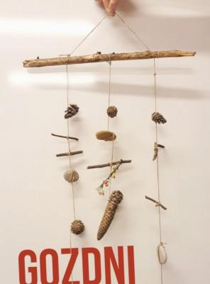 Spletne počitniške mini delavnice: Gozdni mobile