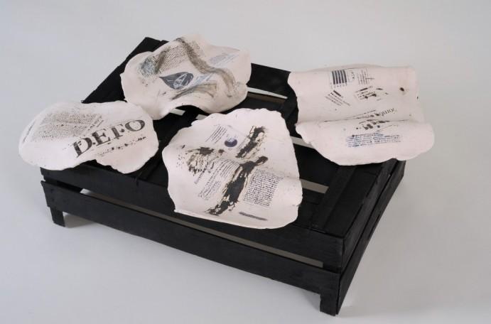 Odprtje razstave Dragice Čadež, prodajne razstave in svetlobne okrasitve atrija galerije
