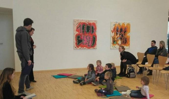 Galerijske sobotnice - ustvarjalna dogajanja za najmlajše