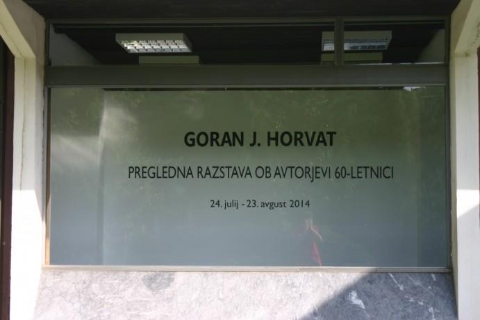 Goran J. Horvat - Pregledna razstava ob avtorjevi šestdesetletnici
