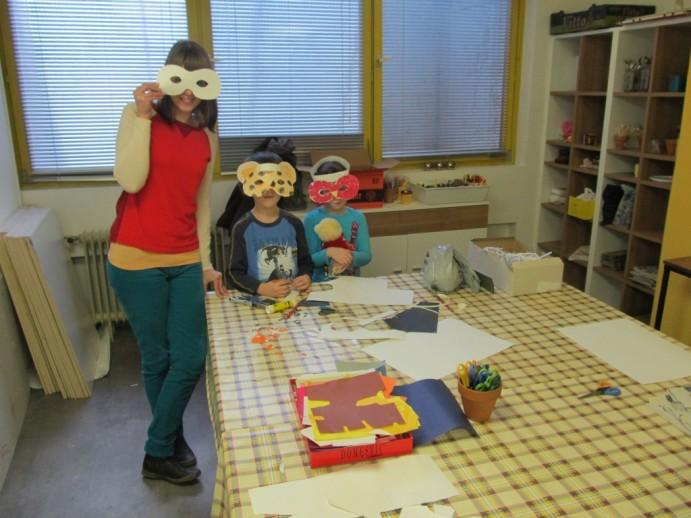 Izdelujemo pustne maske