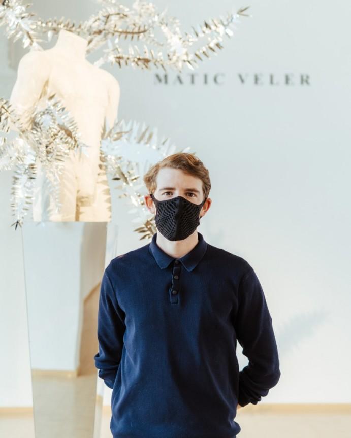 Virtualno na čaju z Maticem Velerjem, modnim ustvarjalcem