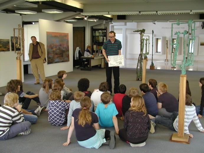 Učna ura v Galeriji Velenje