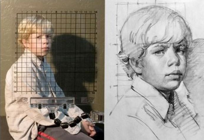 Od fotografije do slike - slikarska delavnica