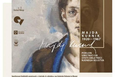 Majda Kurnik, odprtje stalne razstave