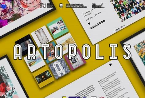 Artopolis- prva spletna platforma za slovenske umetnice in umetnike / Dogodek  je odpovedan.