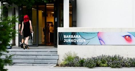 Odprtje razstave Barbare Jurkovšek