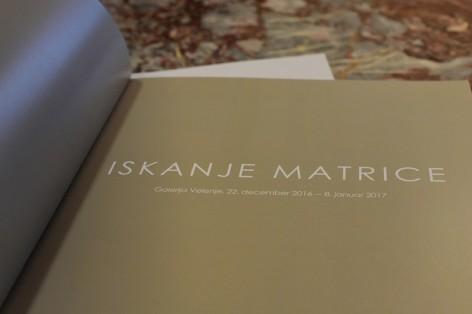 Katalog Iskanje matrice
