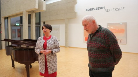 Zadnji teden razstave Borisa Jesiha