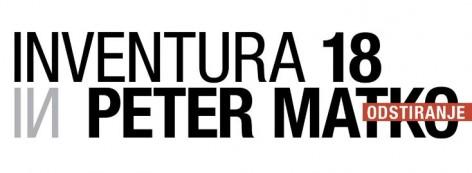 Odprtje razstav Inventura 18 in Peter matko/Odstiranje