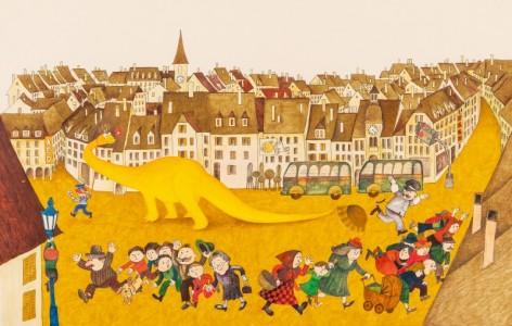 Razkošje domišljije, ilustracije Marjance Jemec Božič