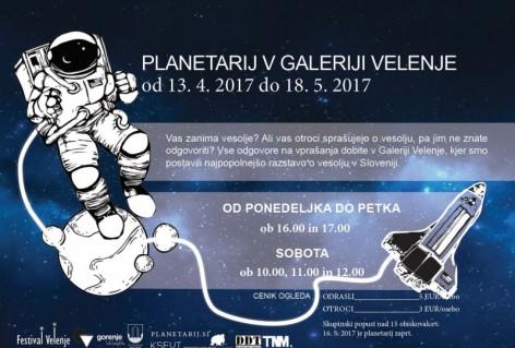Planetarij v Galeriji Velenje