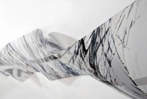 Odprtje razstave Milene Gregorčič: Valovanja linij