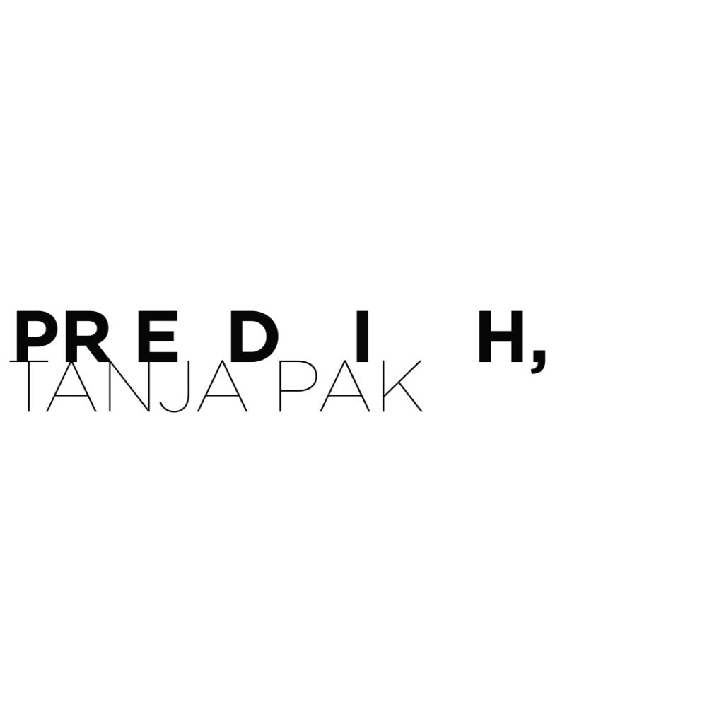 Prispevek  o aktualni razstavi Tanje Pak, Predih