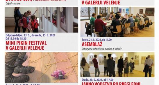September v Galeriji Velenje